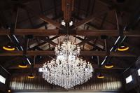 8 ft crystal chandelier