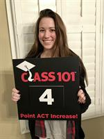 4 points on the ACT means more money for merit based scholarships.