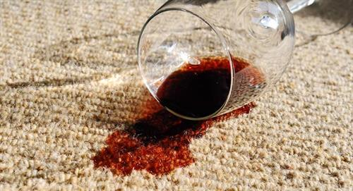 We can even get wine out of your carpets!