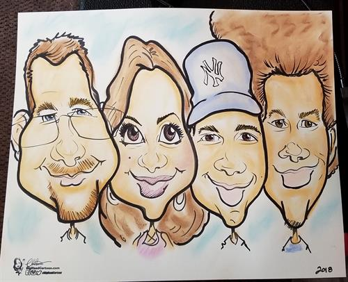 Color Caricature Expample
