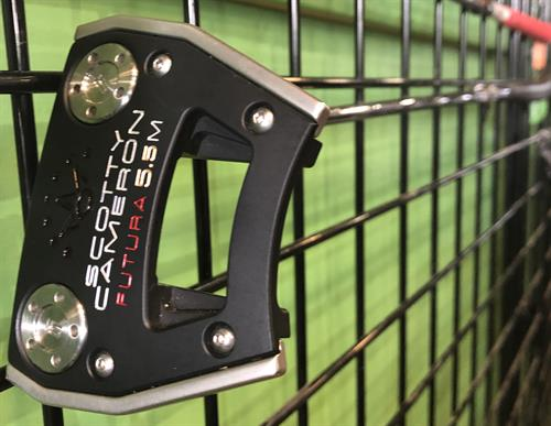 Golf Anyone?  Hard to Find Scotty Cameron Futura 5.5 m.  Improve your Swing!