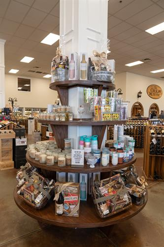 In addition to wines and spirits, we offer gift baskets and a number of other accessory items.