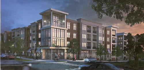Rendering of McEwen Northside Apartments