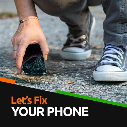 We can repair your cell phone or tablet