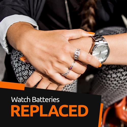Lifetime battery replacement for watches and key fobs
