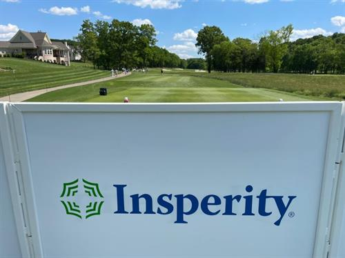 Great time with friends of Insperity today enjoying the Simmons Bank Open at The Grove. Thanks to everyone who made it out!!