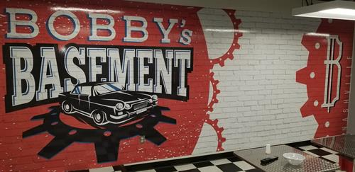 Bobby's Basement Wall