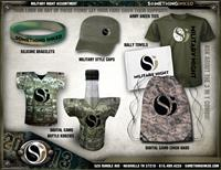 Just a few of our great military and camo promotional products