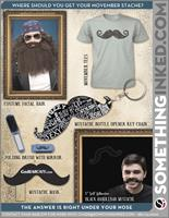Are you a hipster or just want some awesome swag?!? Great for MOVEMBER