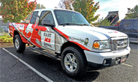 Commercial Vehicle Wrap - Hart Ace Hardware