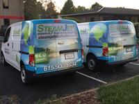 Commercial Fleet Wrap - Steamjet Nashville