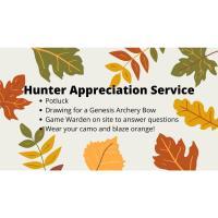Hunter Appreciation Service