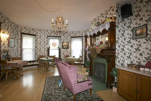 Guest Parlor of Main House.