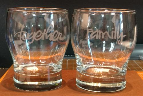 Etch Beverage Glasses