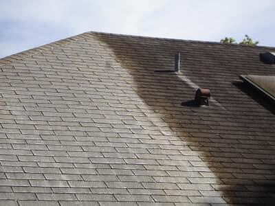 No Pressure Roof Washing