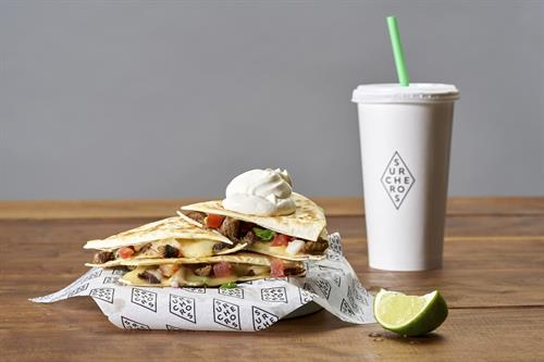 Loaded Quesadilla - Two sizes, loaded or mini