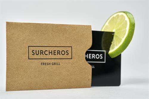Gift Cards - Available in our restaurant or online