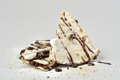 Smore's Quesadilla - Don't forget dessert! Our version of the classic s'mores