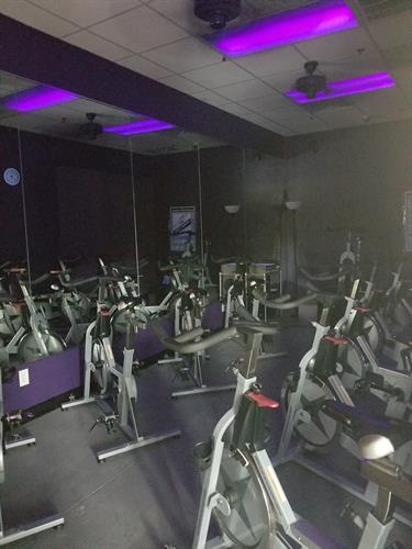 Spin classes Included in Membership