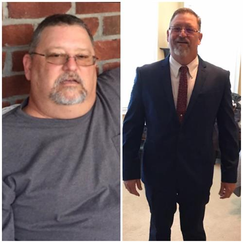 Local Business Owner, Pete Heth. Transformation