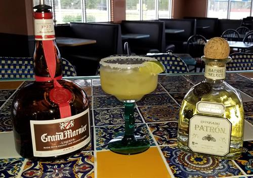 Tortuga Jacks Patron Barrel Select Margarita