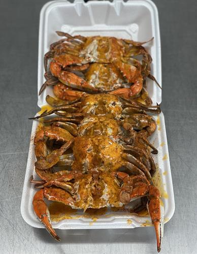 Blue Crab Tray
