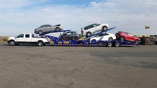 Hot shot car hauler