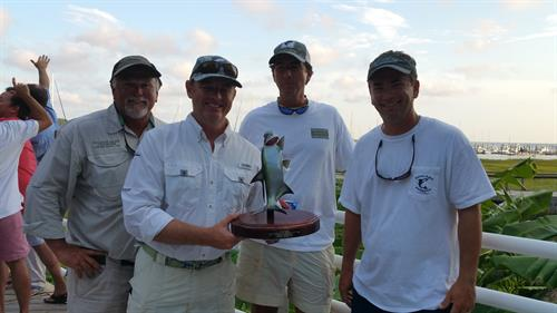2nd Place winners winners of 6th Annual Tarpon / Bull Red Drum Tournament