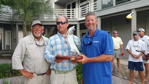 1st place winners of 6th Annual Tarpon / Bull Red Drum Tournament