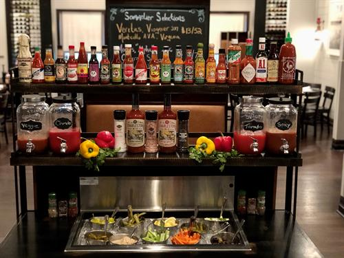 Weekend Bloody Mary Bar at Halyards