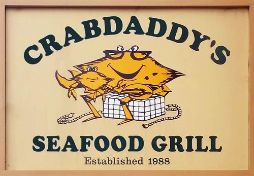 "WELCOME TO CRABDADDY""S"