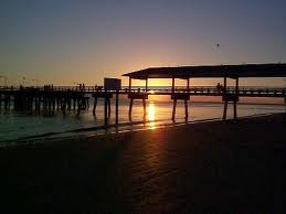 The St. Simons Pier at Sunset