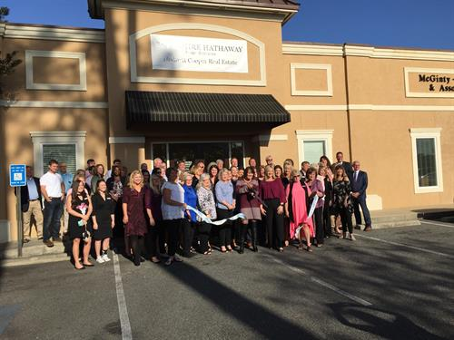 Chamber Ribbon Cutting for Berkshire Hathaway HomeServices Hodnett Cooper Real Estate March 28, 2017