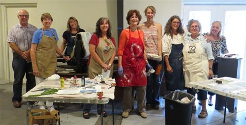 Pinot & Prints Workshop
