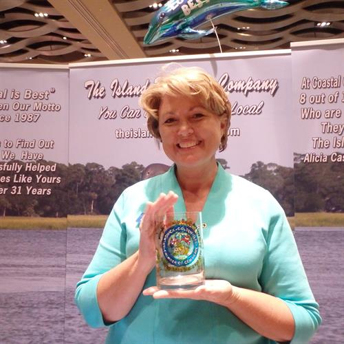 Local is Best Award Winning Booth at the BGICOC Business Expo