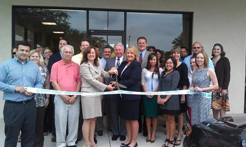 Ribbon Cutting 2013