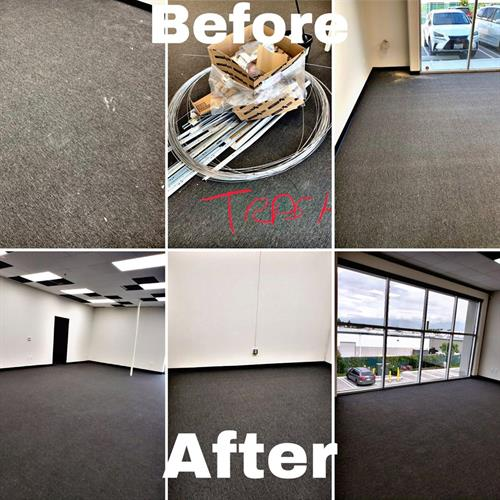 Post Construcion Cleaning- office