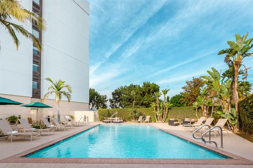 Take a dip in our heated pool and spa.