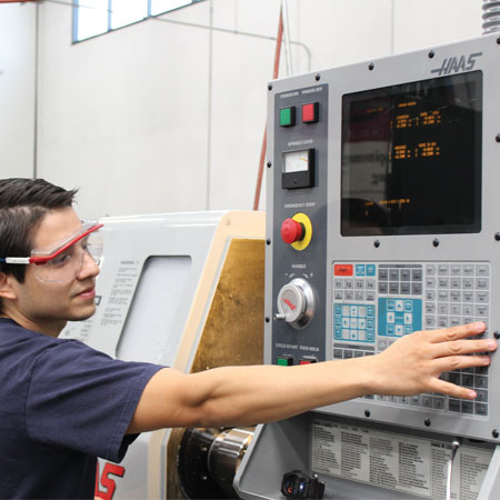 Advanced CNC training available.