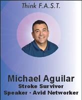 Michael Aguilar, Stroke Awareness Advocate