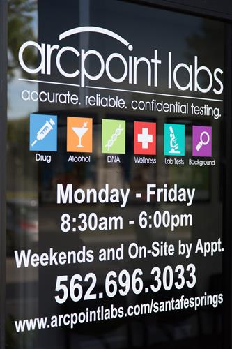 Hours: Monday-Friday 8:30am to 6:00pm. Weekends and On-Site by appointment.