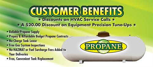 Northern Lakes Propane, whether you are looking for better price, customer service or building in the area call us for more information!