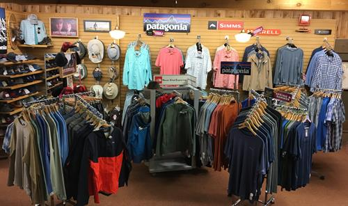 Men Brand Name Clothing - North Face, Patagonia, Columbia, Merrell, Simms, Huk, Kavu, & More