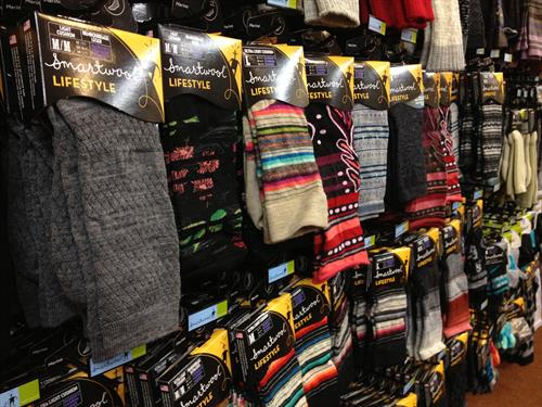 We carry a huge selection of Smartwool & Darn Tough Socks
