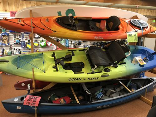 Summer Adventures Await! Get on the water with a New Malibu Pedal, Kayak, Canoe or SUP