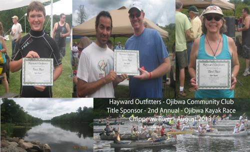 Ojibwa Canoe, Kayak & SUP Race - Sponsored by Hayward Outfitters