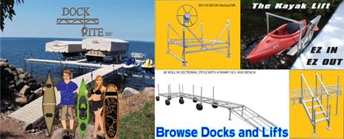 We Sell Dockrite Docks and Lifts