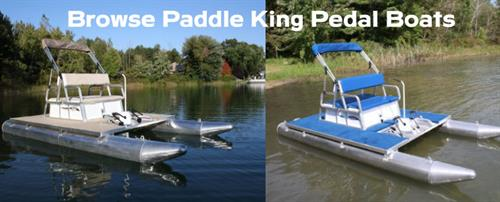 We Sell, Rent and Repair Paddle King Pedal Boats