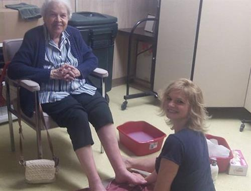 The Senior Resource Center provides great services for residents of Sawyer County.  Footcare is provided by Holly Duffy in a newly renovated room for your privacy.  Call her at 715-699-9987 for your personal appointment.