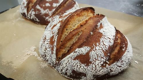 Ancient grains sourdough, by Chef Kara
